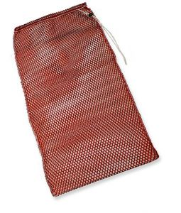 00001831R SPARE PARTS CLEANING BAG AND COLORED CLOTHES - RED -