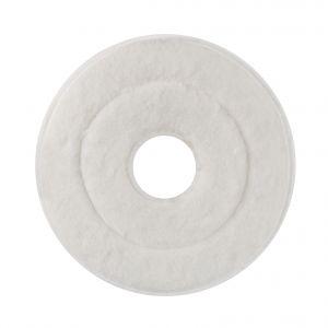 00001838 Mop Monospazzola Abrasivo - Bianco - 25 Cm