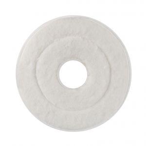 00001847 MOP ABRASIVE MONOSPAZZOLA - WHITE - 33 CM