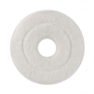 00001848 MOP ABRASIVE MONOSPAZZOLA - WHITE - 43 CM