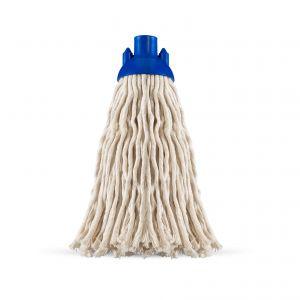 00001856 Mop Filo Grosso Con Calotta - Bianco - 170 Gr