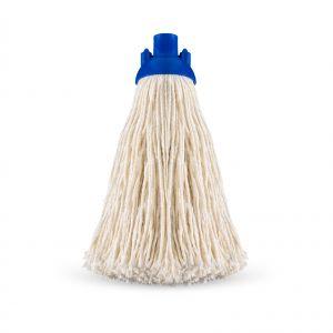 00001868 Mop Filo Fine Con Calotta - Bianco - 280 Gr