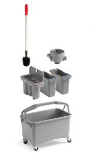 00003260K01 Eroy Bucket E-01 - Gray - With Wheels