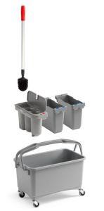 00003260K03 Eroy Bucket E-03 - Gray - With Wheels