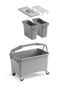 00003260K05 Eroy Bucket E-05 - Gray - With Wheels