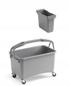00003260K07 Eroy Bucket E-07 - Gray - With Wheels