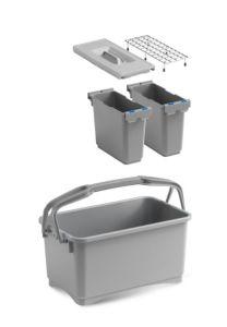 00003260K55 Eroy Bucket E-05 - Gray - Without Wheels