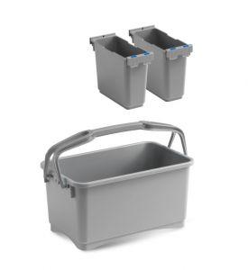00003260K58 Eroy Bucket E-08 - Gray - Without Wheels