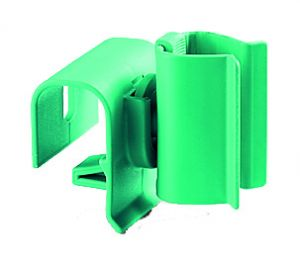 00003345 Portamanico Con Attacco per Profilo Largo - Verde