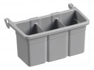00003356E Additional Module for Bottle Trays - Gray