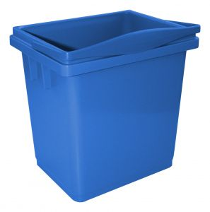 00003366B 4 L Bucket With Upper Handle - Blue