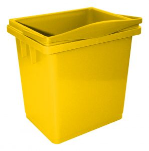 00003366G 4 L Bucket With Upper Handle - Yellow