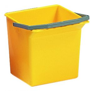 00003506 Bucket 6 L With Upper Handle - Yellow