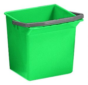 00003508 6 L Bucket With Upper Handle - Green