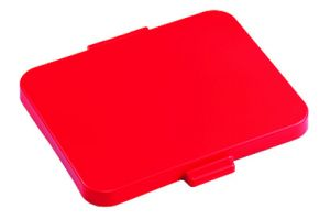 00003534 DUST SQUARE LID - RED