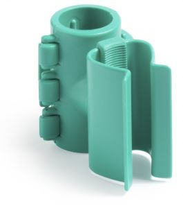 00003591 PORTAMANICO WITH ATTACHMENT FOR TUBES - GREEN