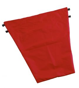 00003618 Sacco 50 L Pvc - Rosso - dimensioni 62x65 Cm