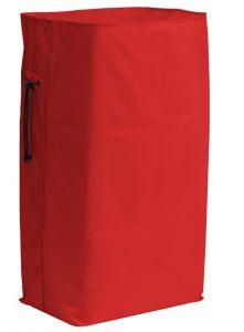 00003641R 150 L Plasticized Sack - Red