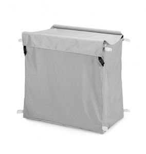 00003668 PLASTICIZED BAG WITH COVER - GRAY - 300 L