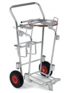 00004090 URBAN NETTEZZA TROLLEY WITH BAG HOLDER - GRAY -