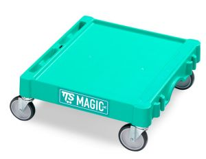T09060413 MINI MAGIC BASE - GREEN - OUTDOOR WHEELS WITH FR