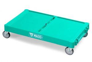 T09070412 LARGE MAGIC BASE - GREEN - OUTDOOR WHEELS ø 12