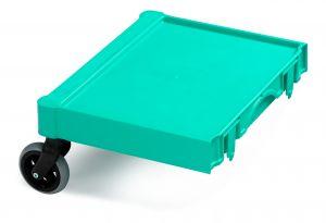 T09074112 APPENDIX MAGIC - GREEN - WHEELS FOR EXTERIORS ø 125
