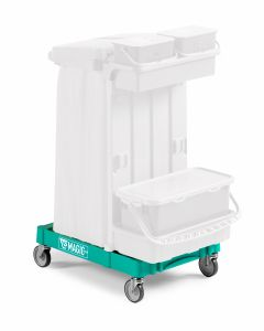 T09080413 SMALL MAGIC BASE - GREEN - OUTDOOR WHEELS WITH