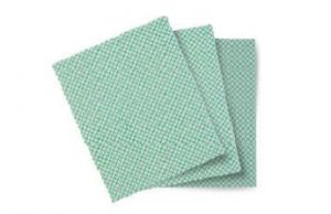 TCH603049 Panno Basic-T - Bianco-Verde - 20 Conf. Da 10 Pz -