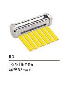 FSE003N - mm4 TRENETTE cutting for dough sheeter