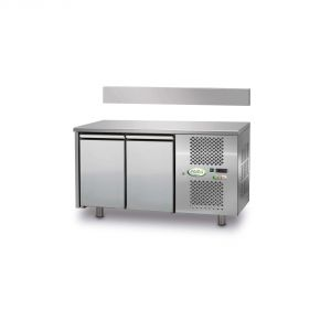 FTR2TN - Ventilated Refrigerated Table 2 doors - 0 / + 10 ° - WITHOUT LIFT