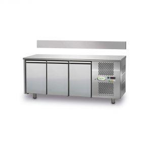 FTR3TN - Tavolo Refrigerato Ventilato 3 porte - 0/+10° - SENZA ALZATINA