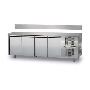 FTRA4TN - 4-door Ventilated Refrigerated Table - 0 / + 10 ° - WITH LIFT