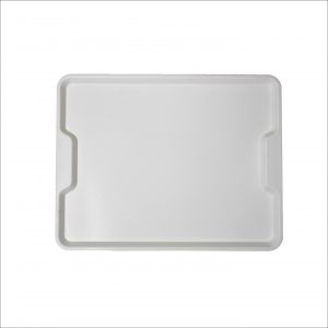 GEN-100703 Polypropylene tray - Ergonomic collection - Canteen - External measures 45,6x35,6 cm