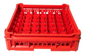 GEN-K27x7 CLASSIC BASKET 49 SQUARE COMPARTMENTS - Glass height from 65mm to 120mm