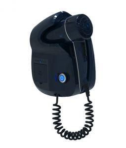 GHIBLI-B Ghibli Evo Blue hairdryer for hotel use Double USB socket