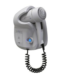 GHIBLI-W Ghibli Evo White hairdryer for hotel use Double USB socket