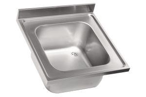 LV6002 Top lavello in acciaio inox AISI 304 dim.700X600 1 vasca