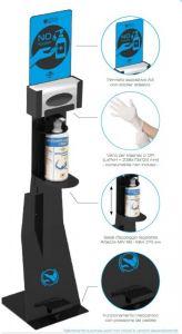 T789151 Professional pedal sanitizing station