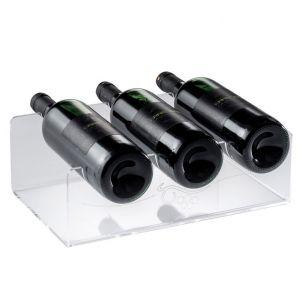 EV01801 SHOW 5 - Espositore vino inciso per bottiglie ø 8,2 cm