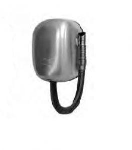 T704562 Asciugacapelli da parete con tubo per uso intensivo in inox AISI 304 satinato