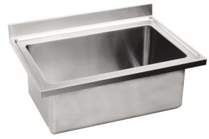 LV7028 Top pot wash sink Aisi304 stainless steel dim.1500X700 single bowl