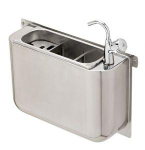 LVPCAR scoopwash inox with tap