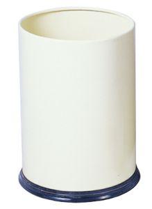 T103030 White coated steel Paper bin 12 liters