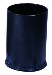 T103031 Gettacarte metallo nero 12 litri
