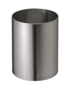T103034 Brushed stainless steel Paper Bin 11 liters