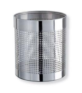 T103036 Gettacarte acciaio inox brillante perforato 12,5 litri