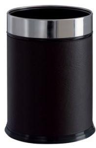 T103050 Gettacarte finta pelle cilindrico 13 litri