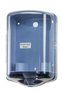T104024 Center Pull Dispenser blue ABS