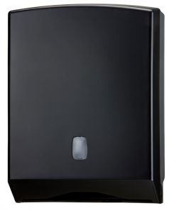 T104226 Towel paper dispenser black ABS 500 sheets